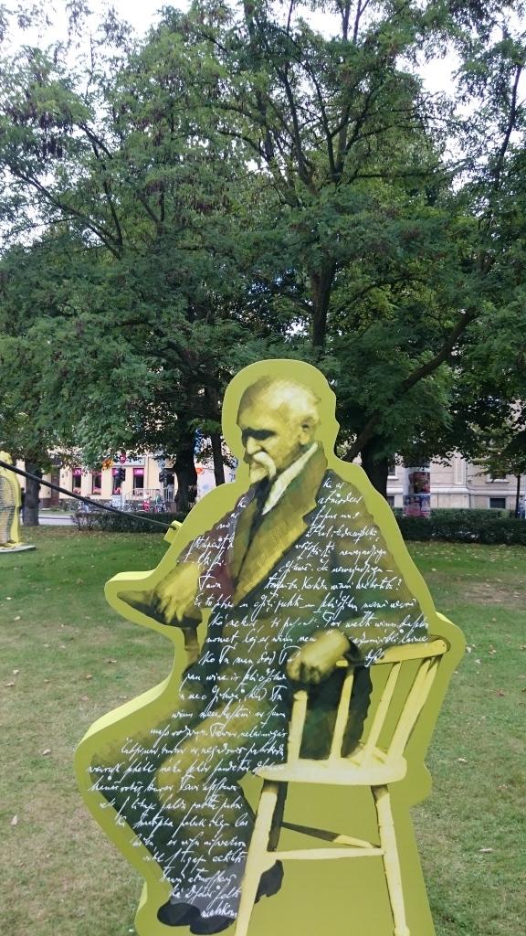 Rainis im Park, Riga 2015
